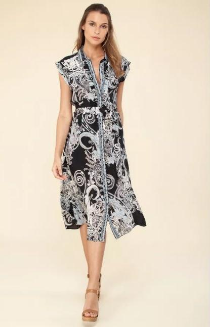 Ruffle dress-1
