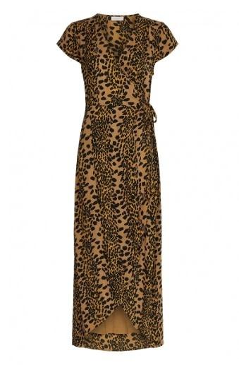 Archana dress toffee brown/black-2