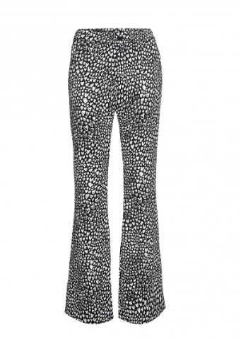 Anna trousers off-white/ black lovely-1