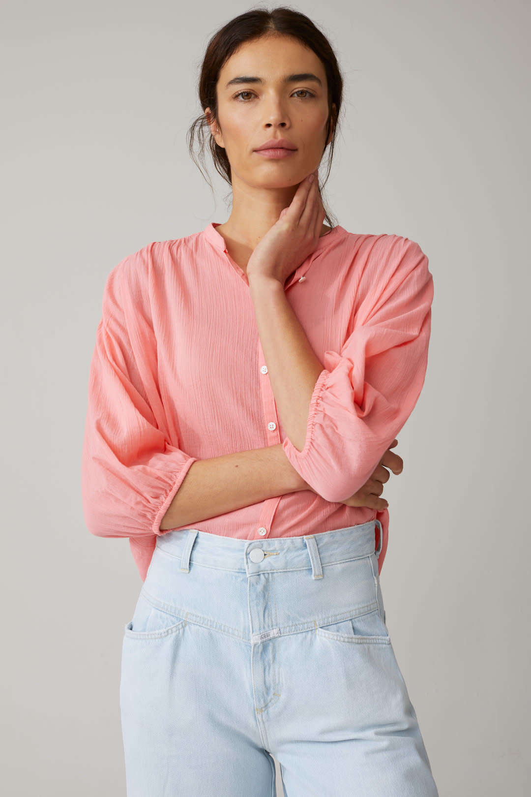 Cherry blouse-3