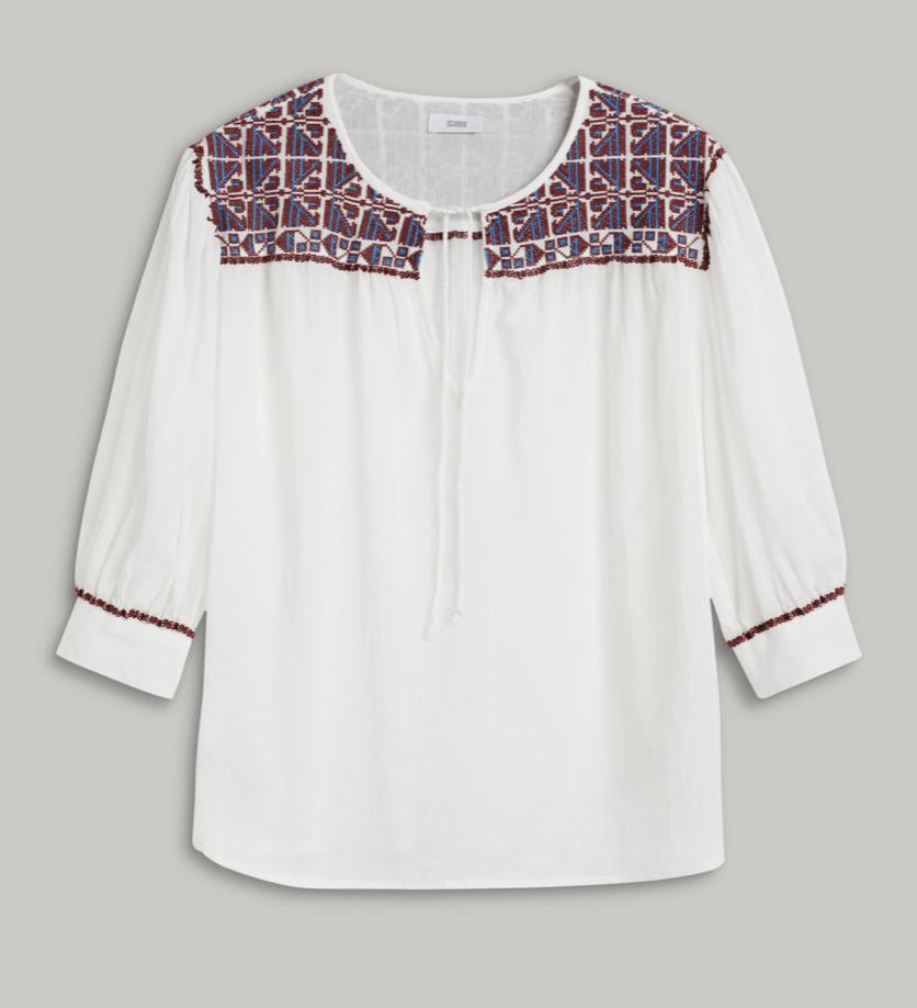 Ivory blouse-1