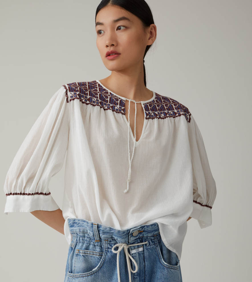 Ivory blouse-2