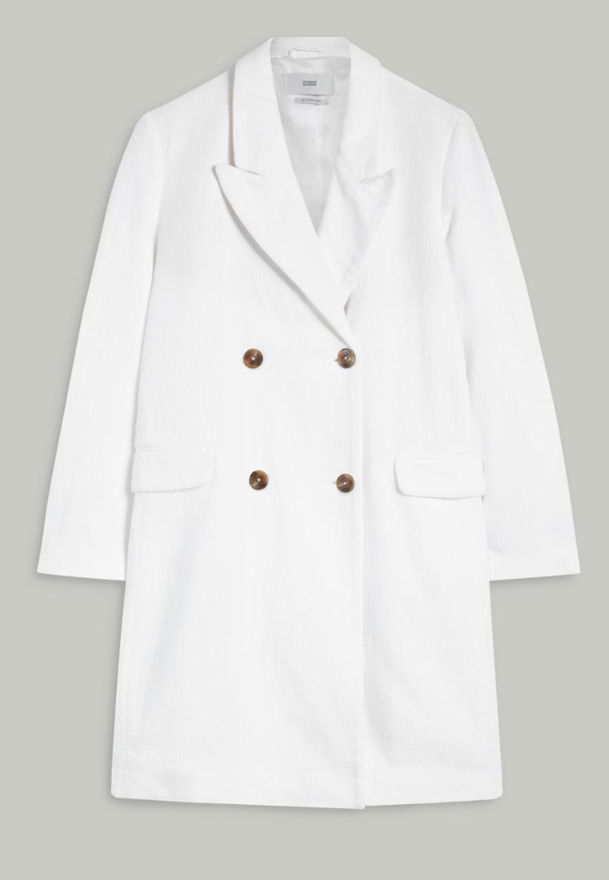Coat cross white-1