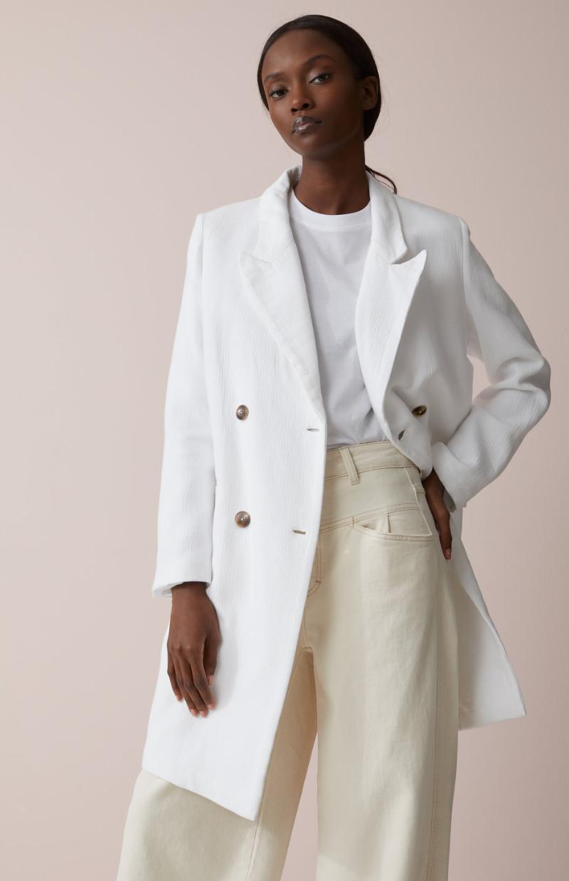 Coat cross white-2