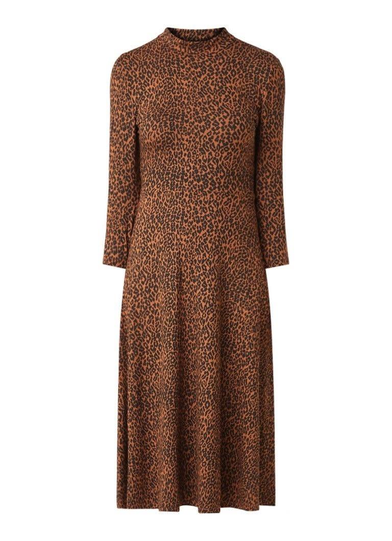 Dress black/brown-3