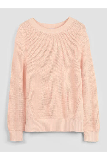 Knit soft pink