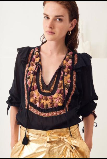 Lova blouse black