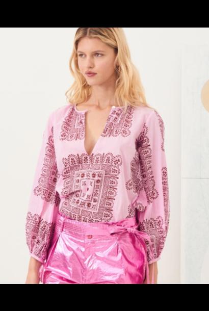 Nali blouse pink