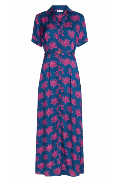 Mia dress blue/pinata