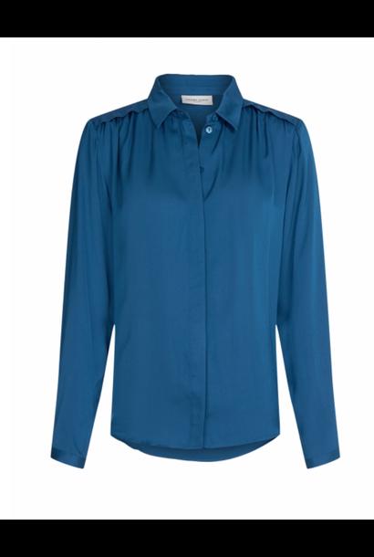 Sunrise solid blouse blue