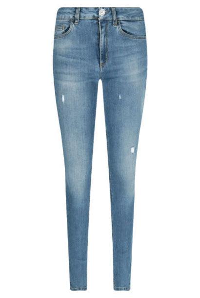 Bottom up jeans divine high waist blue light