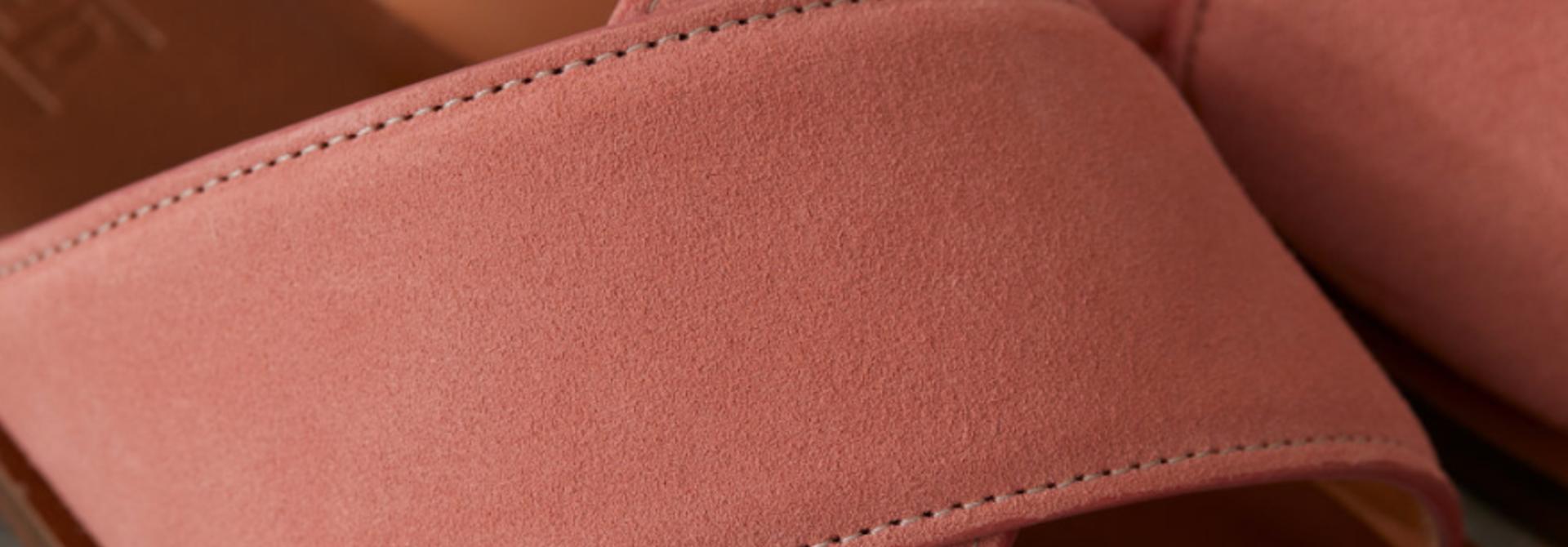 Camellia slippers