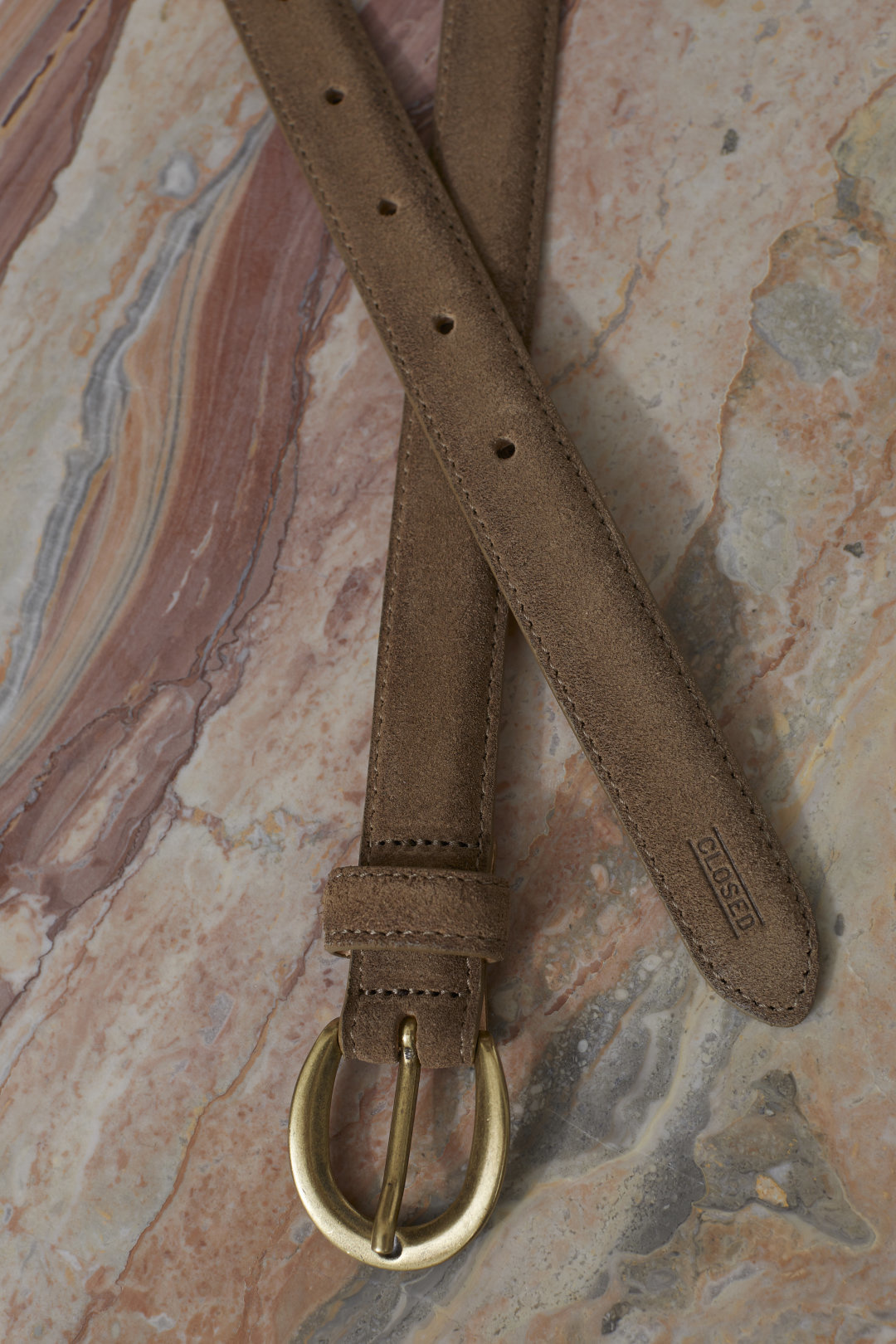 Belt golden oak-1