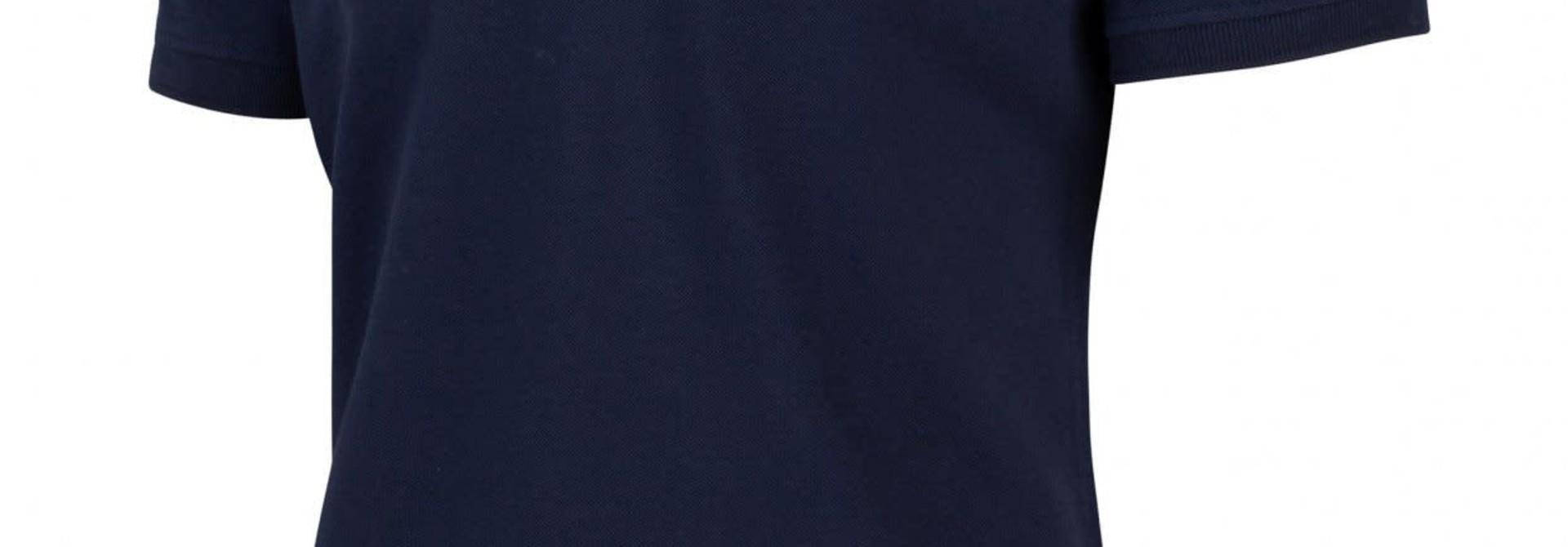 Basic polo  donkerblauw