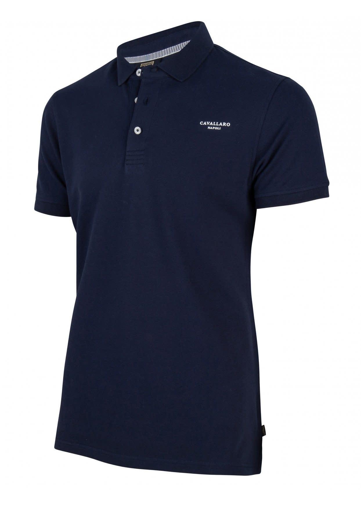 Basic polo  donkerblauw-4