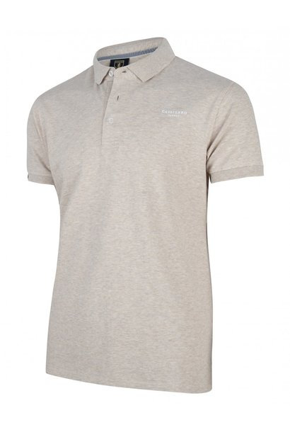 Basic polo beige