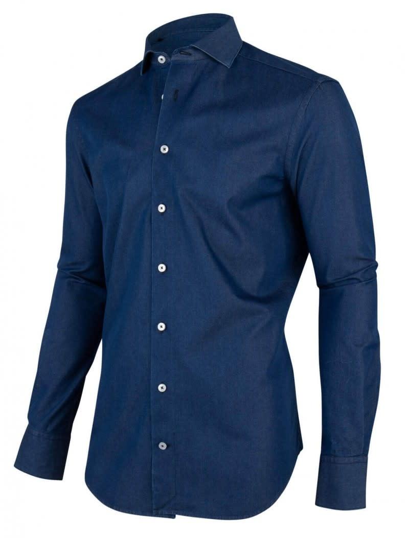 Denim overhemd-5