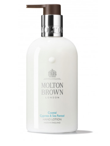 Molton Brown Coastal cypress hand lotion