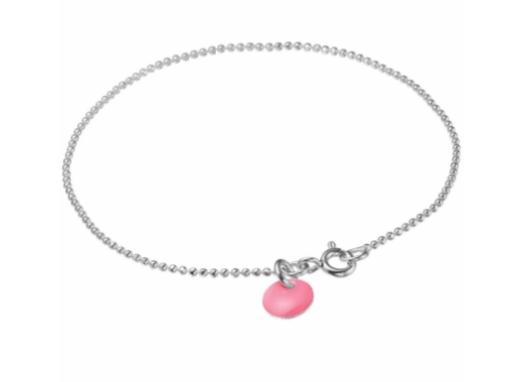 Bracelet ball chain Flamingo silver-1