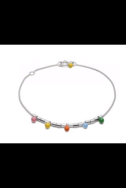 Bracelet rainbow silver