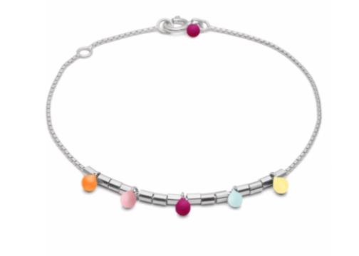 Bracelet rainbow silver-1