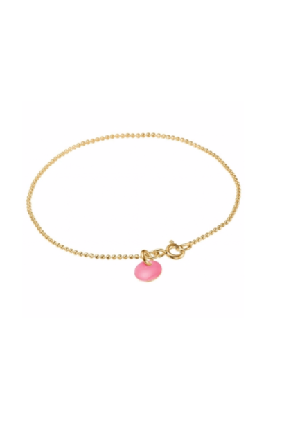 Bracelet ball chain Flamingo