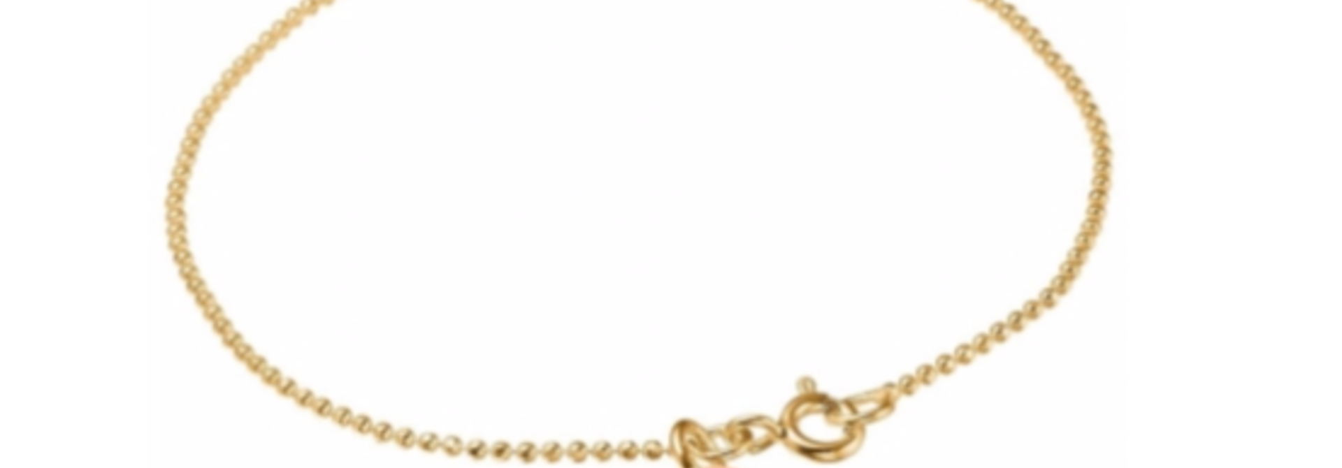 Bracelet ball chain clementine