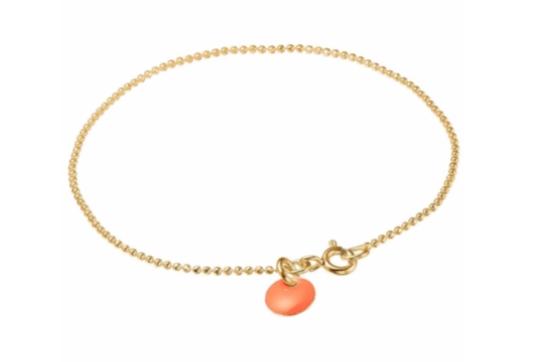 Bracelet ball chain clementine-1