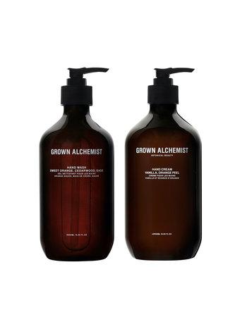 Grown Alchemist Hand wash & hand cream 500ML