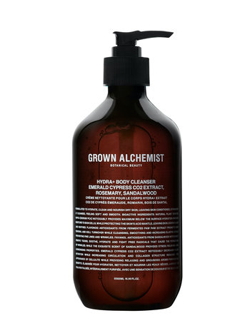 Grown Alchemist Hydra + body cleanser emerald cypres Co2 extract 500ML