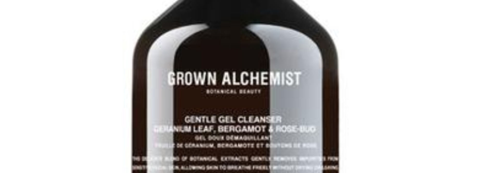 Gentle gel facial cleanser: Geranium leaf, Bergamot & Rose-Bud 200 ml