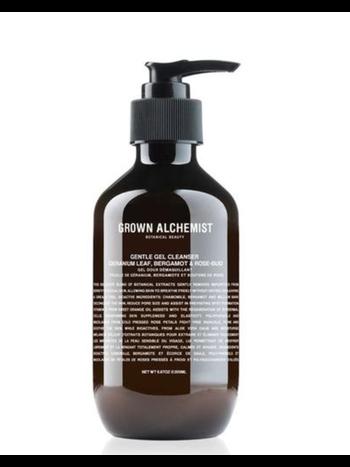 Grown Alchemist Gentle gel facial cleanser: Geranium leaf, Bergamot & Rose-Bud 200 ml