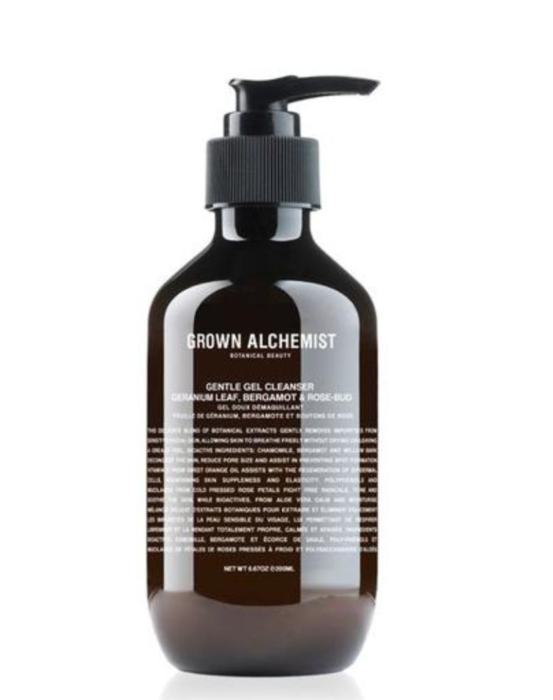 Gentle gel facial cleanser: Geranium leaf, Bergamot & Rose-Bud 200 ml-1