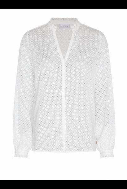Frida blouse cream white