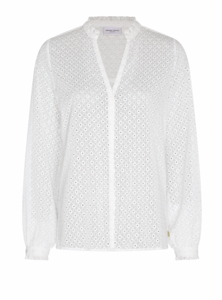 Frida blouse cream white-1