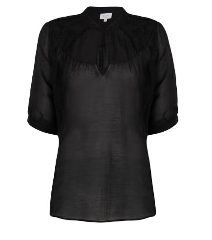 Birkin embroidery top raven-1