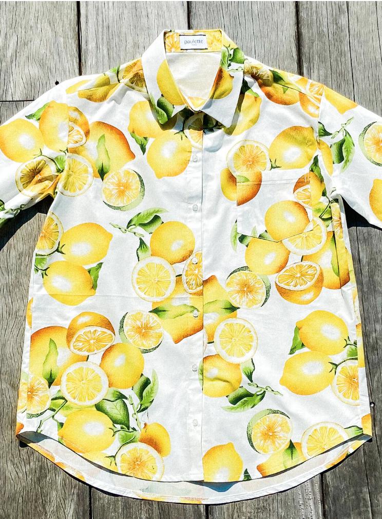 Chemise Citrons-1