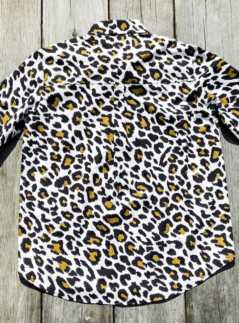 Chemise Leopard