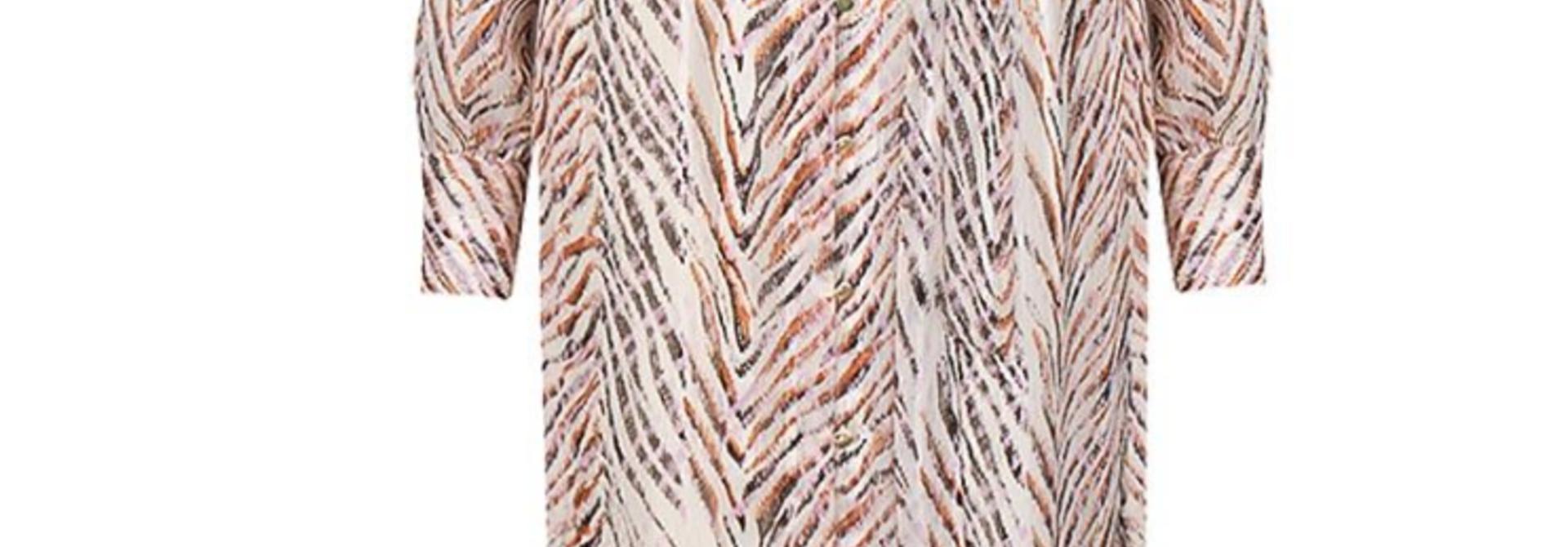 Loras print maxi dress