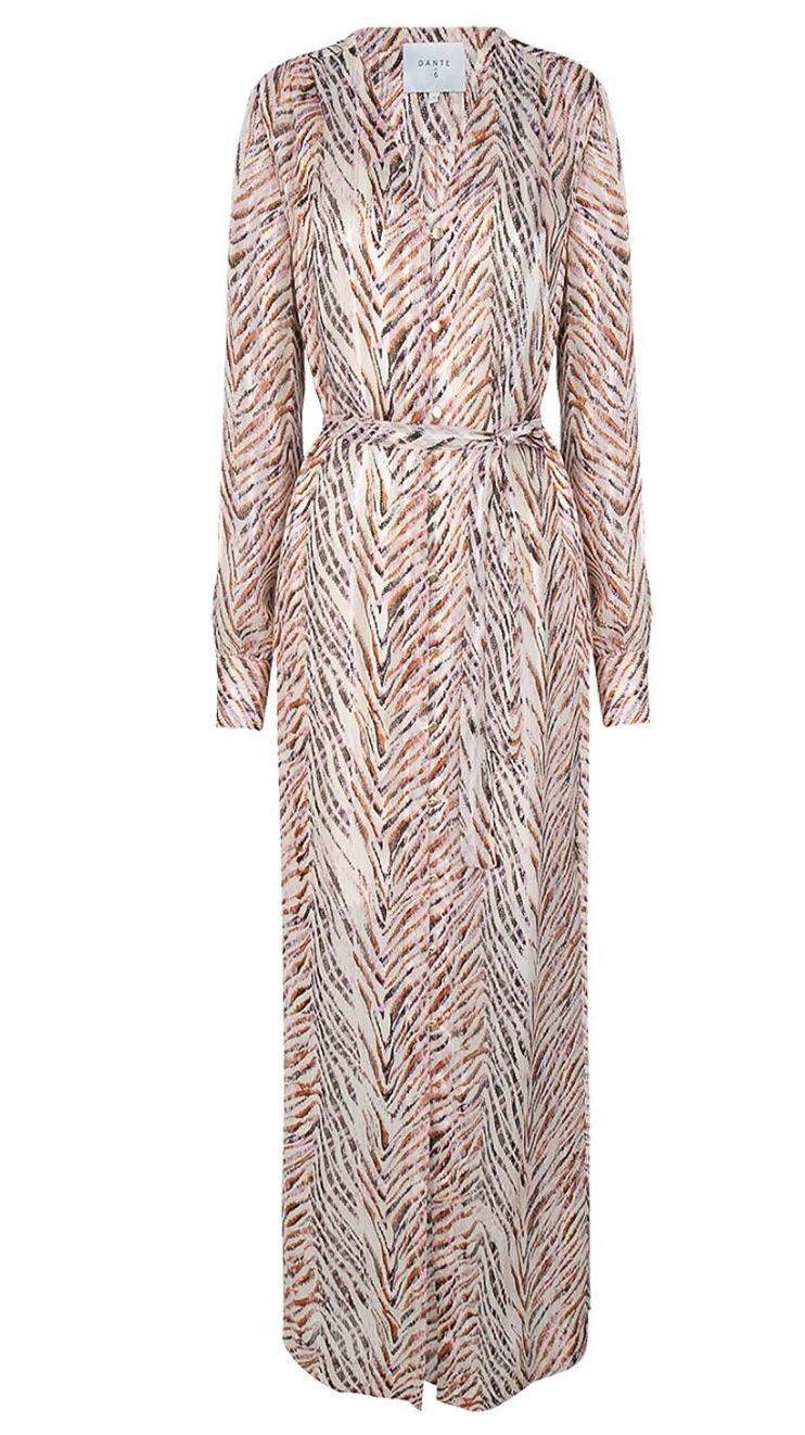 Loras print maxi dress-1