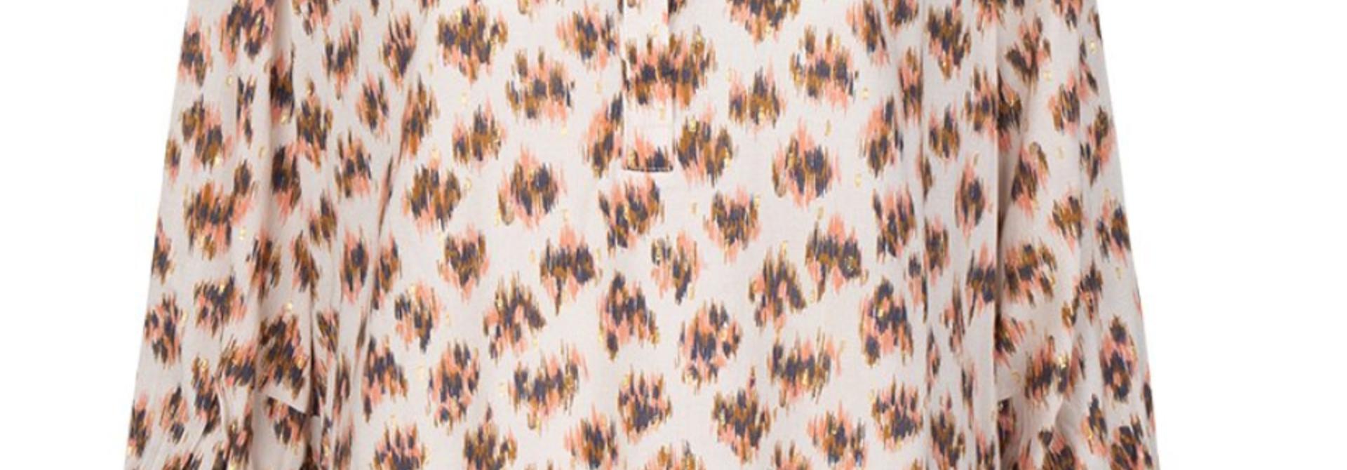 Willow print blouse