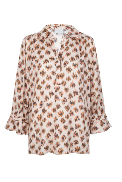 Willow print blouse