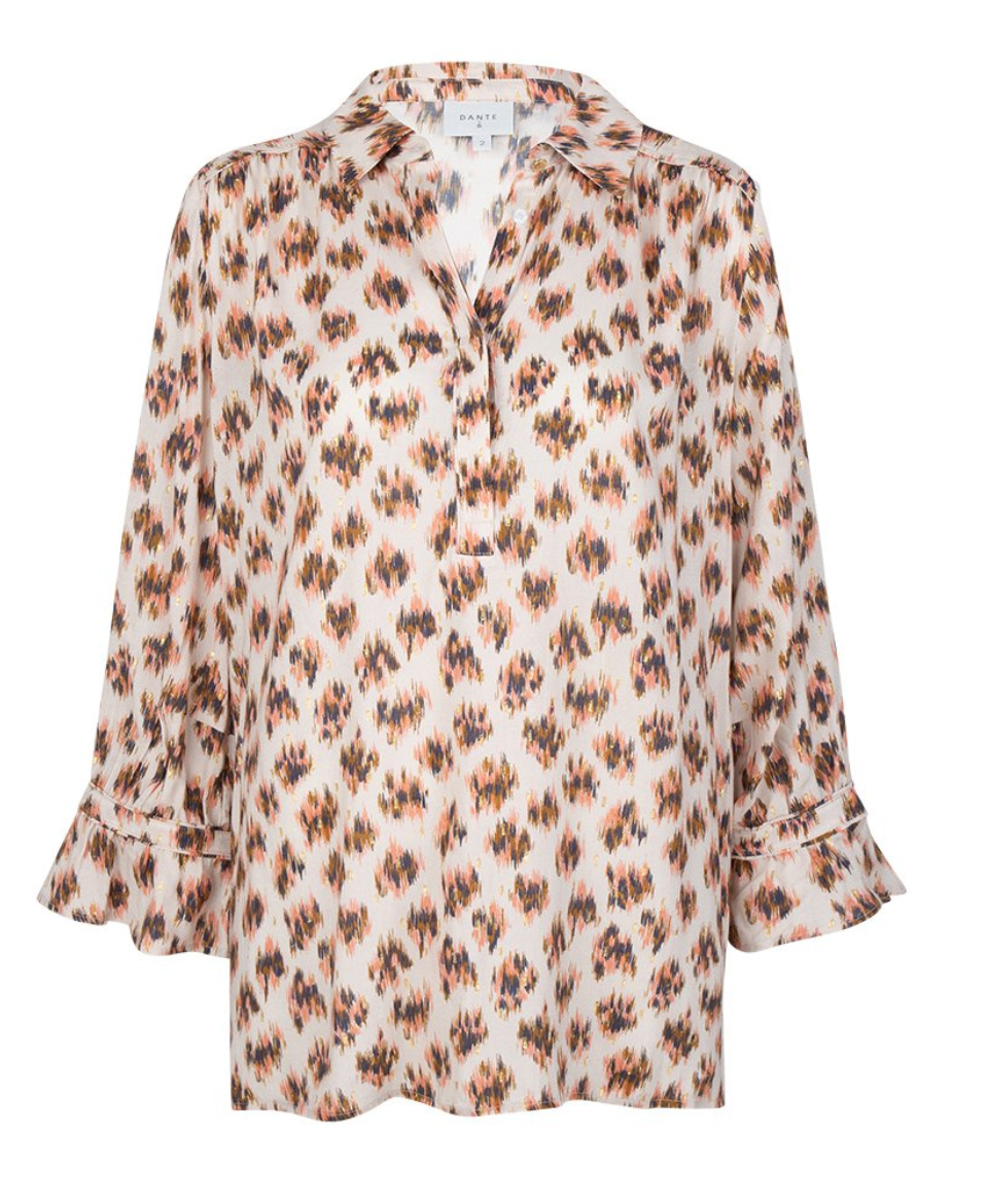 Willow print blouse-1