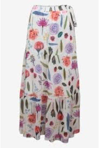 Skirt Jeovanna white