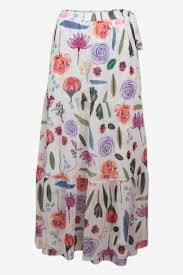 Skirt Jeovanna white-1