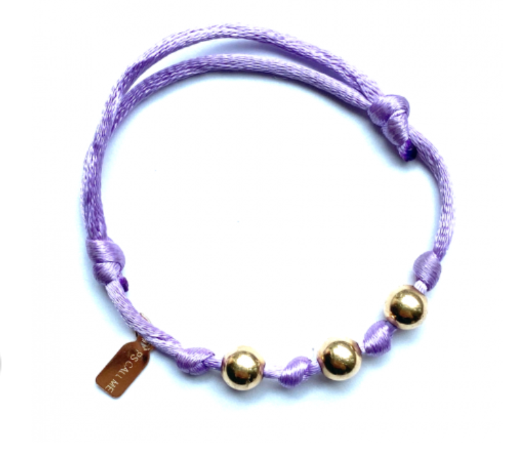 Bracelet paars-1