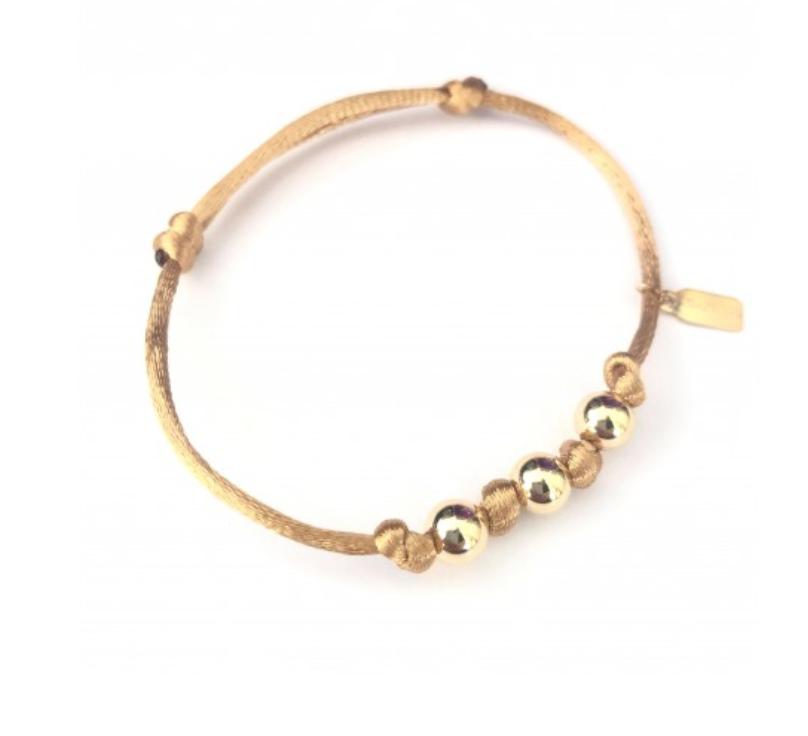 Bracelet beige-1