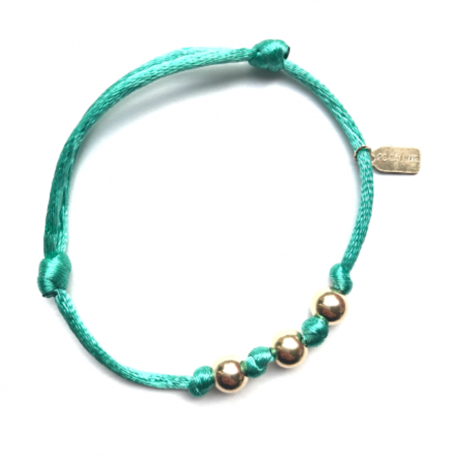 Bracelet sea green-1
