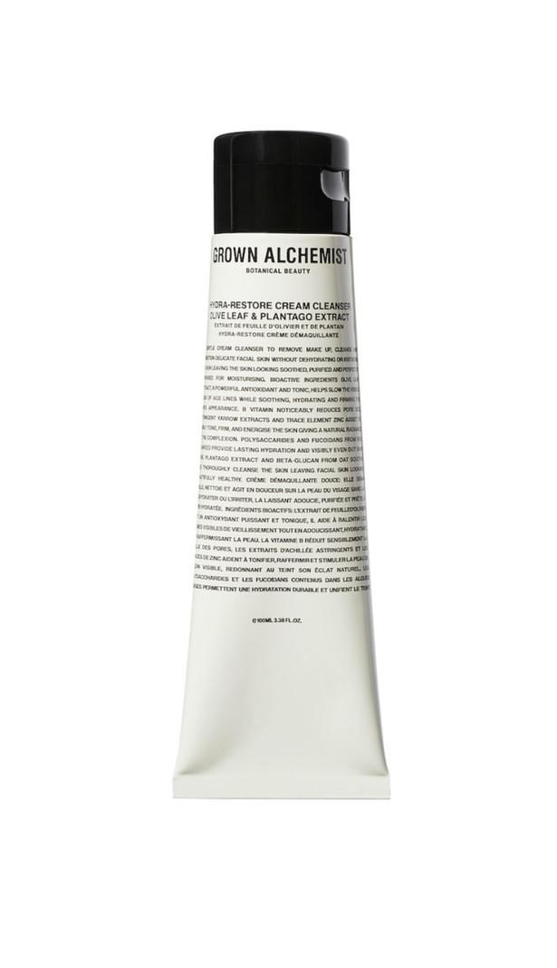 Grown Alchemist Hydra-restore Cream cleanser olive, leaf, plantage extract