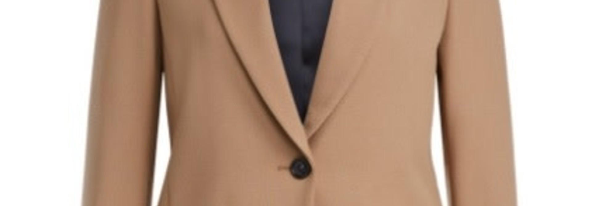 Jacket classic camel